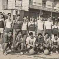 Η φωτογραφία της ημέρας: Βαλταδώρειο Γυμνάσιο 1970: Αγώνας μπάσκετ Γυμνασίων Βελβεντού και Κοζάνης