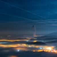 Η «μαγική» φωτογραφία της ημέρας του Νίκου Κουτούλα από τον ψηλό ΑηΛιά…