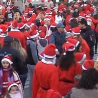 Βίντεο από το 1ο Santa Claus Run στην Πτολεμαΐδα
