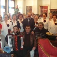 Χριστουγεννιάτικα κάλαντα και ευχές στο Δήμαρχο Εορδαίας Σάββα Ζαμανίδη
