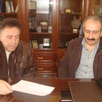 Συνάντηση του Δημάρχου Εορδαίας Σάββα Ζαμανίδη με τον Πρόεδρο του Εργατικού Κέντρου Πτολεμαίδας – Εορδαίας Αναστάσιο Τσιλφίδη