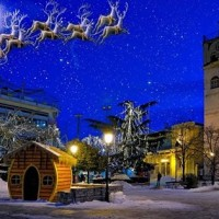 Η φωτογραφία της ημέρας: «Ονειρική» Χριστουγεννιάτικη Κοζάνη!