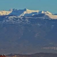 Η φωτογραφία της ημέρας: Ο χιονισμένος Όλυμπος από την Κοζάνη