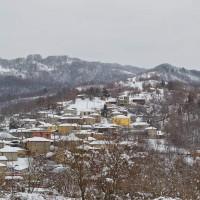 Η φωτογραφία της ημέρας από τα χιονισμένα χωριά του Βοΐου…