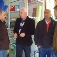 Επίσκεψη του Σ. Ζαμανίδη στην Λαϊκή Αγορά της Πτολεμαΐδας