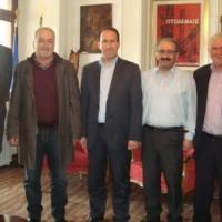 Εποικοδομητική ήταν η συνάντηση των Δημάρχων Εορδαίας Σ. Ζαμανίδη και Νέστου Ε. Τσομπανόπουλου