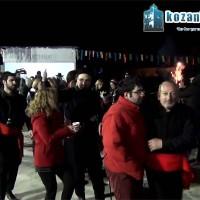 Πολύ κέφι για άλλη μια χρονιά στο γλέντι του Φανού «Κρεβατάκια»! Δείτε το βίντεο του kozaniLife.gr