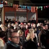 Βίντεο του kozaniLife.gr με το γλέντι του Φανού Παύλου Μελά στην Πλατεία Γιολδάση, παρουσία του Δημάρχου Κοζάνης!