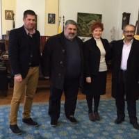 Συνάντηση της Υφυπουργού Μαρίας Κόλλια – Τσαρουχά με τον Δήμαρχο Εορδαίας και τον Αντιπεριφερειάρχη Κοζάνης