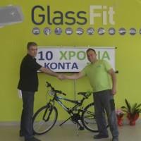 Στις 7 Μαΐου η Glassfit Καραγιάννης γιόρτασε τα 10 χρόνια λειτουργίας
