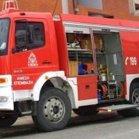 Πυρκαγιά σε φορτηγό το πρωί της Τρίτης 12 Μαΐου στο 7o χλμ Ε.Ο. Κοζάνης – Λάρισας