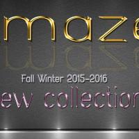 Νέα Collection Φθινόπωρο Χειμώνας 2015-2016 από το κατάστημα Amaze Exclusive Boutique