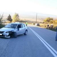 Τροχαίο ατύχημα στις ανηφόρες της Γαλάτειας – Αυτοκίνητο συγκρούστηκε με μηχανή – Δείτε φωτογραφίες