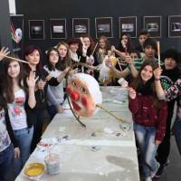 Ξεκίνησε στην Κοζάνη το σεμινάριο κατασκευής παραδοσιακής αποκριάτικης κοζανίτικης μάσκας