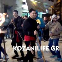 Με πολύ κέφι στήθηκε το γλέντι στον φανό της Γιτιάς – Δείτε το βίντεο του KOZANILIFE.GR