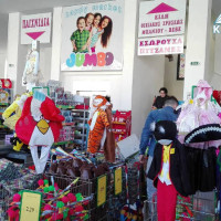 Μεγάλη ποικιλία σε αποκριάτικα από το κατάστημα Happy Market Jumbo στην Κοζάνη!