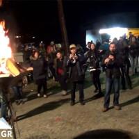 Βίντεο: Με πολύ κόσμο το άναμμα του φανού στον Άγιο Αθανάσιο