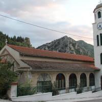 Το Ιερό Λείψανο του Οσίου Δαβίδ του εν Ευβοία στα Σέρβια