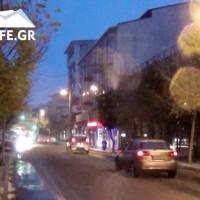 Ξεκίνησε η χιονόπτωση από νωρίς στην πόλη της Κοζάνης! Δείτε το βίντεο