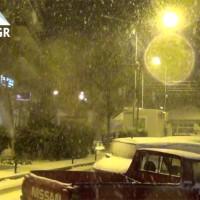 Πυκνή χιονόπτωση το βράδυ της Τρίτης 29/11 στην πόλη της Κοζάνης  – Δείτε το βίντεο του KOZANILIFE.GR