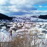 Η φωτογραφία της ημέρας: Πανέμορφο χειμωνιάτικο τοπίο από την χιονισμένη Βλάστη