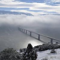 Η φωτογραφία της ημέρας: Υπέροχη χειμωνιάτικη θέα στη λίμνη Πολυφύτου