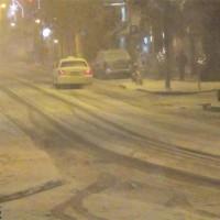 Σφοδρή χιονόπτωση με ισχυρούς βοριάδες στην πόλη της Κοζάνης – Δείτε το βίντεο