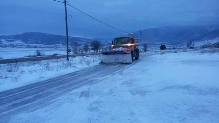 Σε ποια σημεία του οδικού δικτύου στη Δυτική Μακεδονία χρειάζονται αλυσίδες