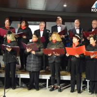 Τραγούδια ρετρό στην κεντρική πλατείας της Κοζάνης από τις χορωδίες «Ελίμεια» και «Μακεδνών» – Δείτε φωτογραφίες
