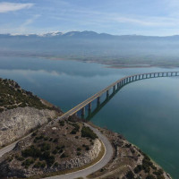 Η φωτογραφία της ημέρας: Η υψηλή γέφυρα των Σερβίων, σήμα κατατεθέν του νομού Κοζάνης!