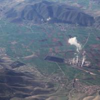 Η φωτογραφία της ημέρας: Η Κοζάνη με τον κάμπο της και το εργοστάσιό της… από πολύ ψηλά!