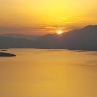 Η φωτογραφία της ημέρας: Ανατολή ηλίου στη λίμνη Πολυφύτου