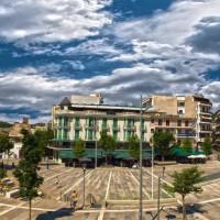 Η φωτογραφία της ημέρας: Η βραβευμένη πλατεία της Κοζάνης