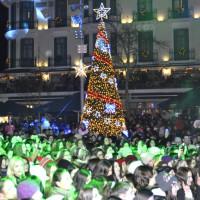 Η φωτογραφία της ημέρας: Άρωμα Χριστουγέννων στο κέντρο της Κοζάνης