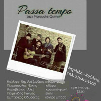Live βραδιά με τους Passa Tempo στο Ostria Cafe στη Νεράιδα Κοζάνης