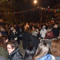 Με πολύ κόσμο και φέτος το γλέντι στον Φανό Αλώνια – Δείτε βίντεο και φωτογραφίες
