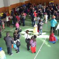 Γέμισε παιδικά χαμόγελα το Βαλταδώρειο Γυμναστήριο Κοζάνης στις εκδηλώσεις της παιδικής αποκριάς – Δείτε φωτογραφίες