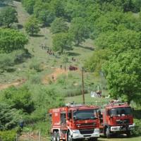 «Διά Πυρός 2019»: Άσκηση αντιμετώπισης δασικής πυρκαγιάς από το Πυροσβεστικό Σώμα στην Άρδασσα Εορδαίας