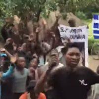 Επικό βίντεο από τη Ζάμπια της Αφρικής με το συλλαλητήριο για τη Μακεδονία!