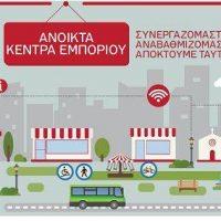 Παρουσίαση των προτάσεων της προμελέτης για στη δράση «Ανοικτά Κέντρα Εμπορίου» στην Κοζάνη