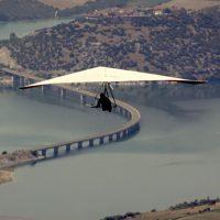 Η φωτογραφία της ημέρας: Πετώντας πάνω από τη λίμνη Πολυφύτου