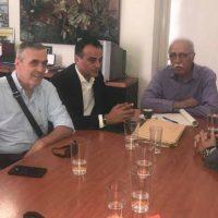 Συνάντηση του Θ. Καρυπίδη με τον Δ. Βίτσα για το προσφυγικό – Δείτε το βίντεο