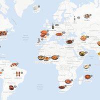 Ο παγκόσμιος «άτλας» του Street Food – Τι φαγητά τρώνε στην Ευρώπη – Δείτε τον χάρτη