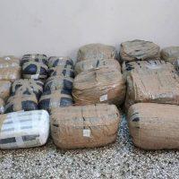 Διακινούσε ναρκωτικά και τα έκρυβε σε δάσος στην Καστοριά – Σύλληψη 27χρονου αλλοδαπού με 129 κιλά κάνναβης