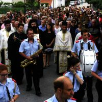 Αφίχθη στο Βελβεντό το ιερό λείψανο του Αγίου Διονυσίου εν Ολύμπω