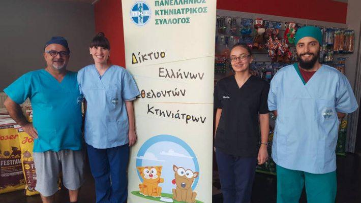 Μαζικές στειρώσεις αδέσποτων ζώων στην Κοζάνη από το Δίκτυο Ελλήνων Εθελοντών Κτηνιάτρων Ελλάδος