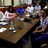 Συνάντηση του Γ. Θεοφύλακτου με τον Πρόεδρο και το Δ.Σ. του Δικηγορικού Συλλόγου Κοζάνης