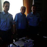 Εθιμοτυπική επίσκεψη Γενικού Περιφερειακού Αστυνομικού Διευθυντή Δυτικής Μακεδονίας στον Δήμαρχο Βοΐου