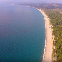 Η μεγαλύτερη παραλία με άμμο στην Ευρωπαϊκή Ένωση βρίσκεται στην Ελλάδα