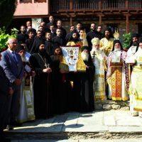 Μεγάλος αριθμός προσκυνητών στις λατρευτικές εκδηλώσεις της πανήγυρης της Ιεράς Μονής Αγίου Νικάνορα Ζάβορδας – Δείτε το βίντεο